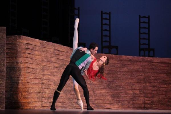 """La bailarina Sadaise Arencibia debutó en el protagónico de """"Carmen"""", obra creada por Alberto Alonso. Foto: Nancy Reyes. Gentileza NR."""