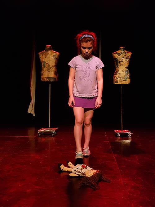 "Guillermina Martínez Vega, protagonista de ""Soy Nena"", obra creada por Lucila Sanles. Foto gentileza de Maria Sol Frisardi."
